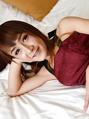 21 year old sexy Thai ladyboy gets big facial from BWC