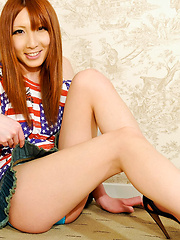 Japanese teen newhalf demostrating her naked body
