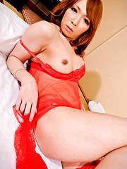 Hot japanese girl with cock strips
