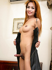 Kim is a sultry ladyboy with French looks she works in Didi bar in Pattaya Klang.