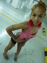 Amateur thai ladyboy Meenee