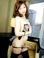 Hina is japanese newhalf ans she is22 years young and still in university studying IT