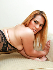 Big beautiful Thai ladyboy