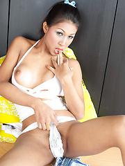 Denim Skirt Desire