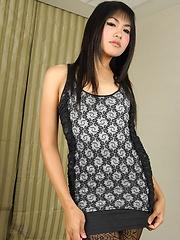 Gorgeous Tgirl Lisa Anal Action