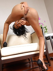 Transsexual ShaSha Plays with Herself