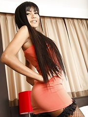 Hot Ladyboy Emy Striptease