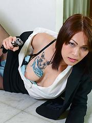 Sharp Shooter Minami Hosho!