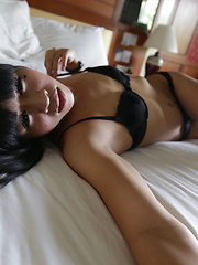 22 year old horny Thai ladyboy gets naughty with white tourist